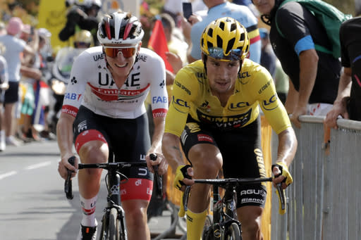 Andersen wins Stage 14 at Tour de France led by Roglic