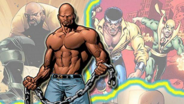 PHOTO: Comic book hero, Luke Cage, in the pages of Marvel Comics. (Marvel Comics)
