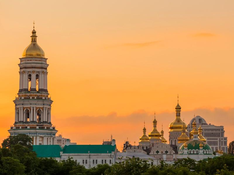 The Pechersk Lavra Monastery in Kiev: Getty/iStock