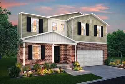 Two-story floor plan by Century Complete, new home builder in Michigan