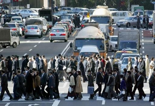 Rush Hour in Tokio