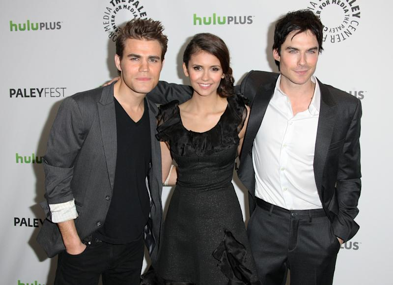 Nina Dobrev and Ian Somerhalder: Vampire Diaries Stars Make 'Awkward' Comic-Con Appearance