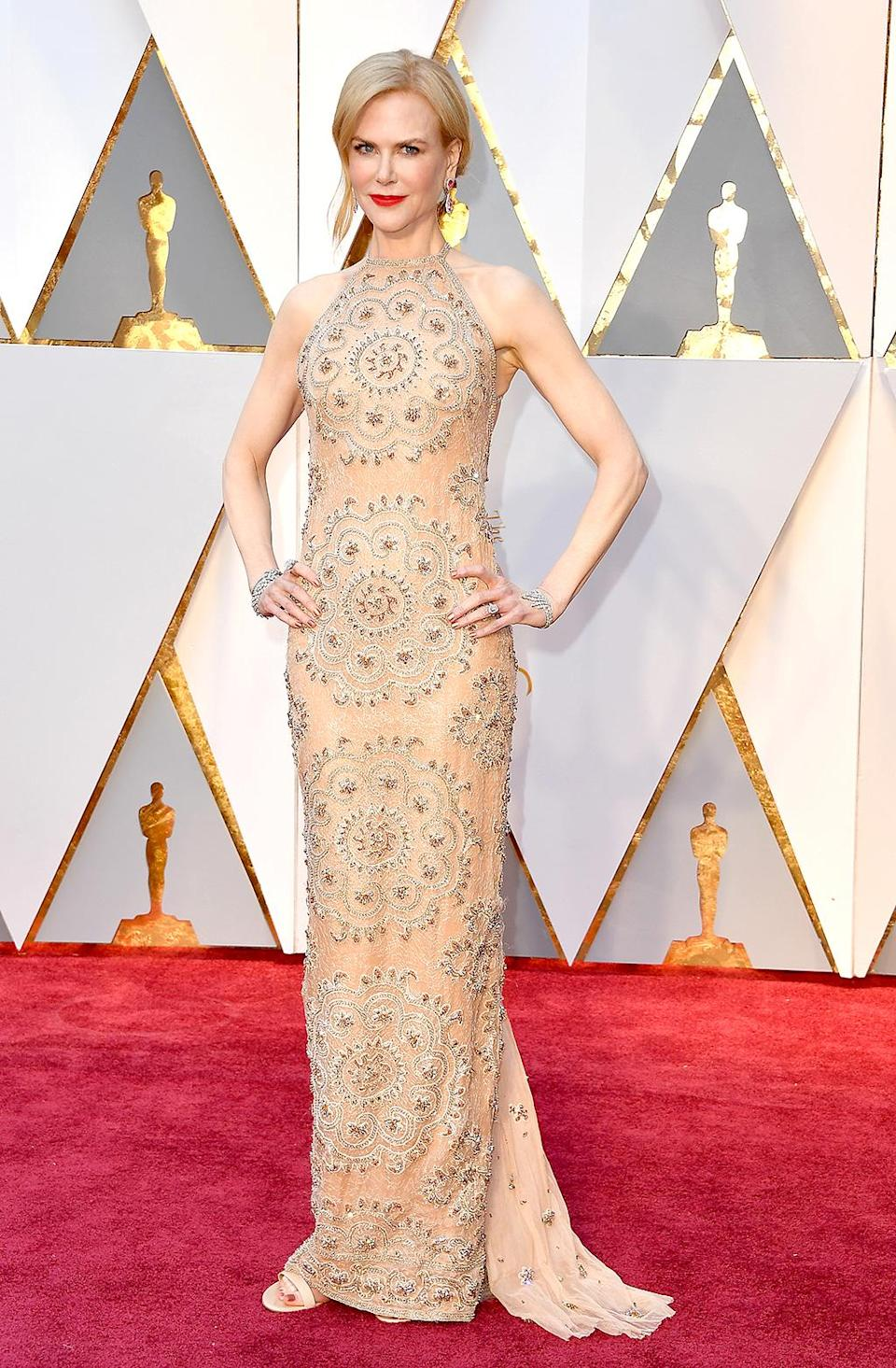 <p>Nicole Kidman attends the 89th Annual Academy Awards at Hollywood & Highland Center on February 26, 2017 in Hollywood, California. (Photo by Steve Granitz/WireImage) </p>