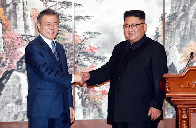 The liaison office in the North Korean city of Kaesong was opened last year as Seoul and Pyongyang knitted closer ties (AFP Photo/-)