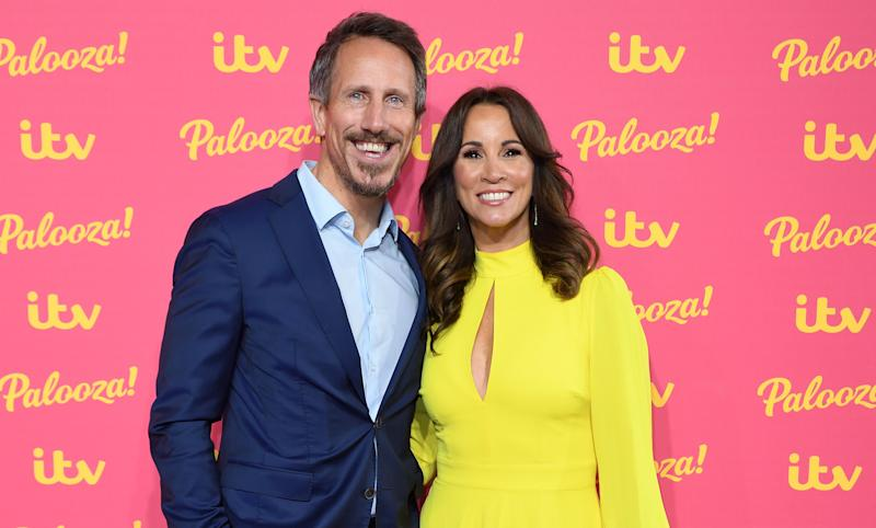 Nick Feeney and Andrea McLean have been married for two years (Credit: Getty Images)