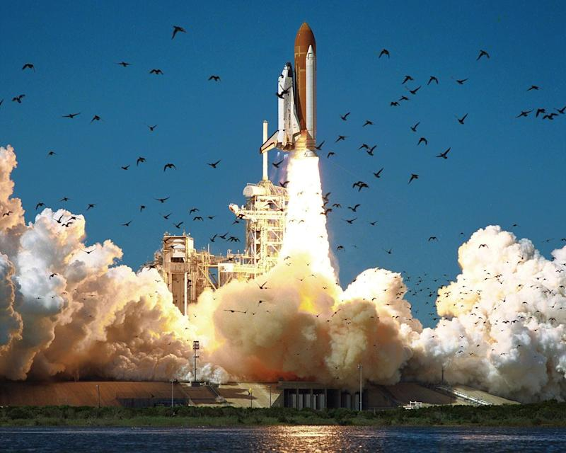 The launch of Challenger on January 28 1986