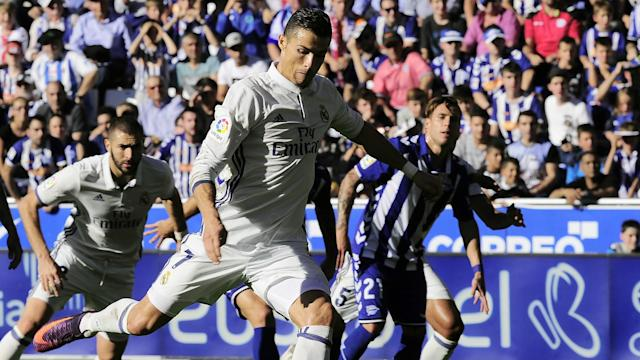 Cristiano Ronaldo Alaves Real Madrid LaLiga 29102016