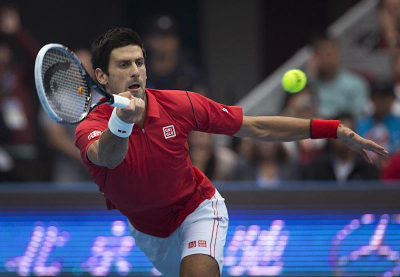 Djokovic beats Nadal 6-3, 6-4 to win China Open