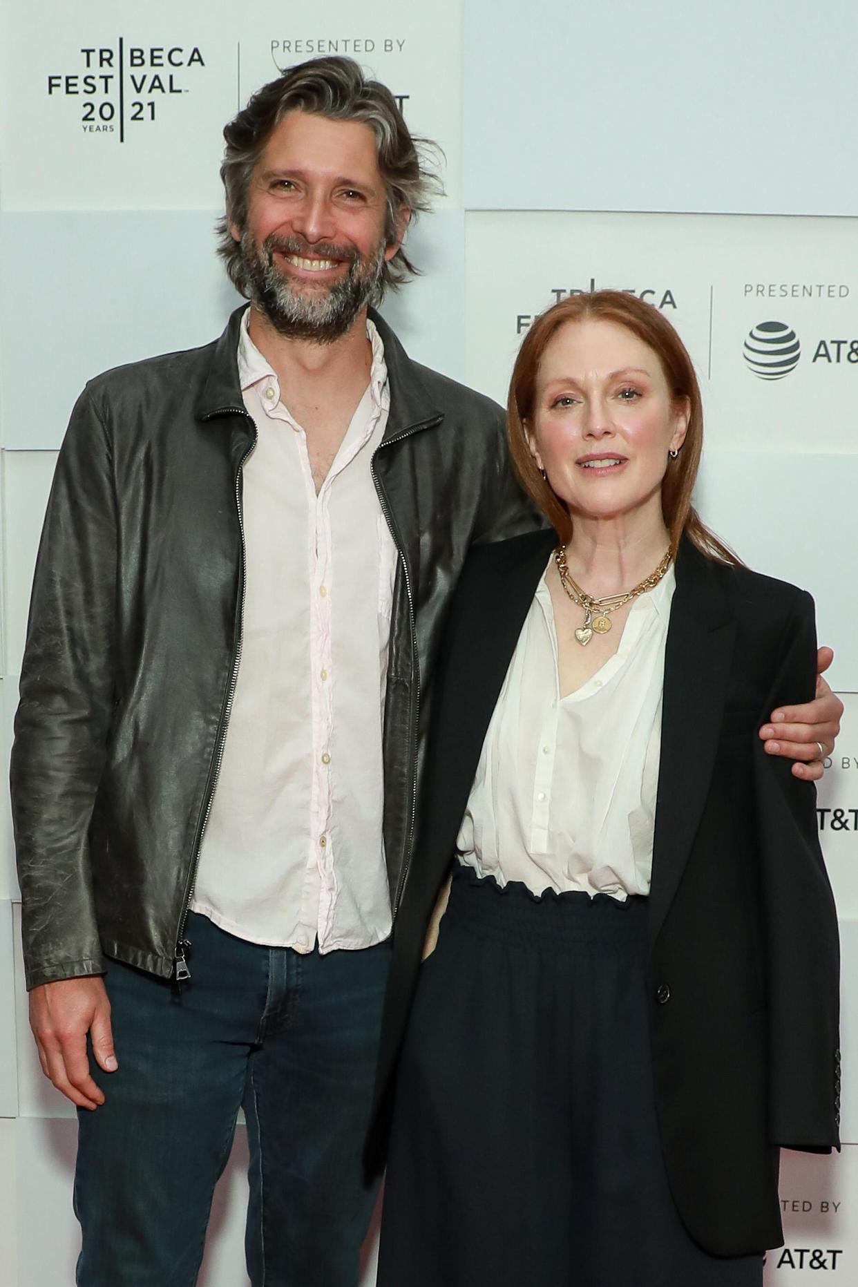 The actress married Bart Freundlich in 2003. (Getty Images)