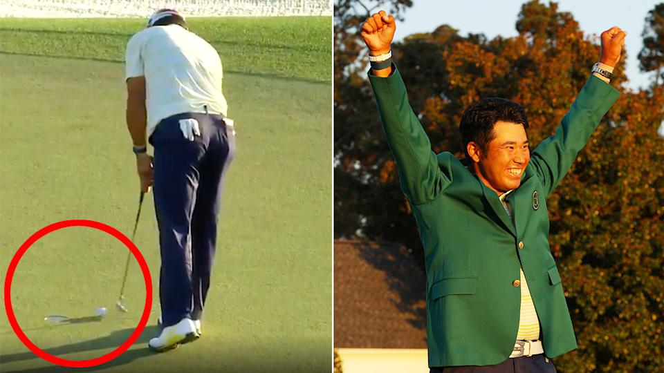 Seen here, the putt that clinched Hideki Matsuyama's 2021 Masters triumph.