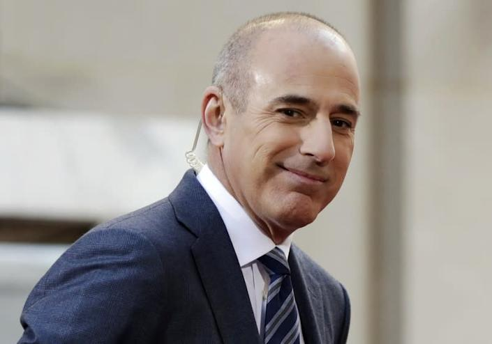 "Matt Lauer recently got a new arm tattoo. <span class=""copyright"">(Richard Drew / Associated Press)</span>"