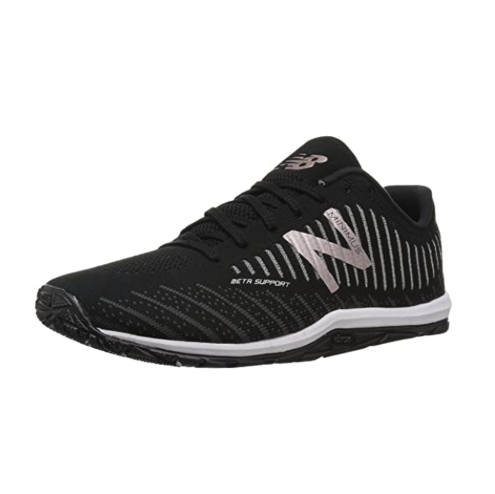 """<p><strong>New Balance</strong></p><p>amazon.com</p><p><strong>79.95</strong></p><p><a href=""""https://www.amazon.com/dp/B06XSBB31R?tag=syn-yahoo-20&ascsubtag=%5Bartid%7C2140.g.19966106%5Bsrc%7Cyahoo-us"""" rel=""""nofollow noopener"""" target=""""_blank"""" data-ylk=""""slk:Shop Now"""" class=""""link rapid-noclick-resp"""">Shop Now</a></p><p>These cross-trainers from New Balance keep breathability in mind. They're made with mesh fabric for increased ventilation and cushy foam for a natural, customized fit. The one-piece Vibram® outsole also helps you maintain a natural stance, making them ideal for strength training. </p><p><strong>Rave review:</strong> """"I'm a personal trainer. I do pretty intense metabolic circuits and lift pretty heavy outside of coaching. These shoes are perfect. They provide just the right amount of support for lifts and have killer traction for my sprints."""" <br>—Johanna<em>, </em><em><a href=""""https://www.amazon.com/gp/customer-reviews/R2NS9WZVMFSF3X/ref=cm_cr_arp_d_rvw_ttl?ie=UTF8&ASIN=B078X1N5DX&tag=syn-yahoo-20&ascsubtag=%5Bartid%7C2140.g.19966106%5Bsrc%7Cyahoo-us"""" rel=""""nofollow noopener"""" target=""""_blank"""" data-ylk=""""slk:amazon.com"""" class=""""link rapid-noclick-resp"""">amazon.com</a></em></p>"""