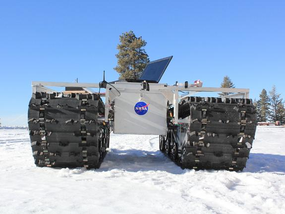 NASA Rover to Explore… Greenland