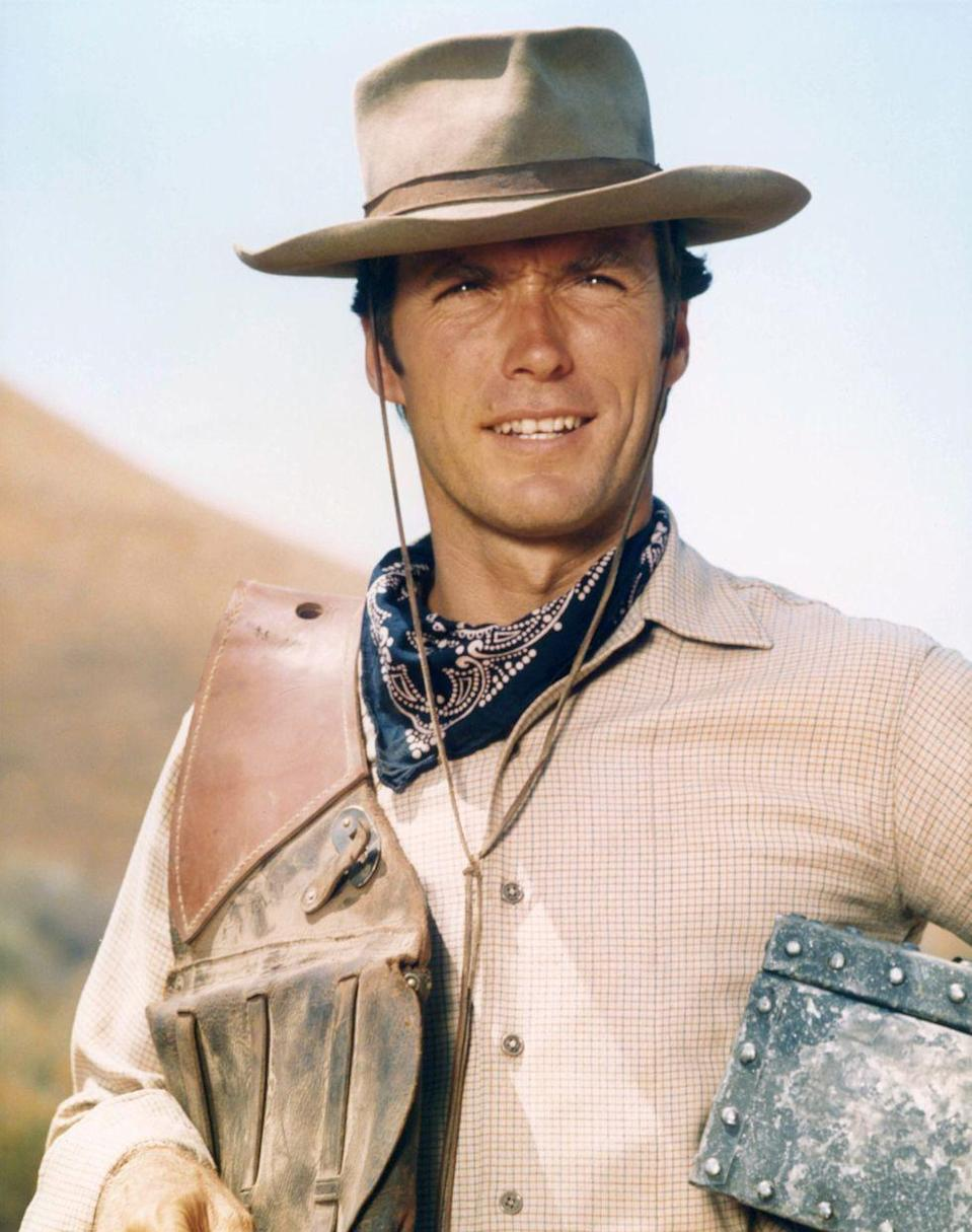 <p>With western programs at their peak in popularity, Eastwood made a name for himself in the genre as TV's Rowdy Yates on the popular show. </p>