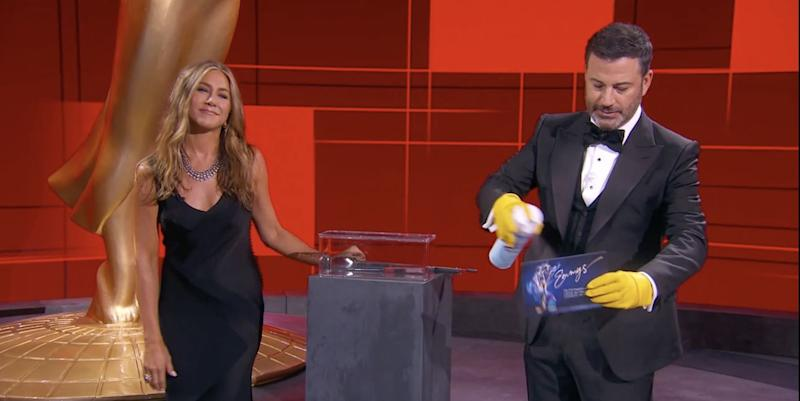 The most awkward moments at the 2020 Emmys