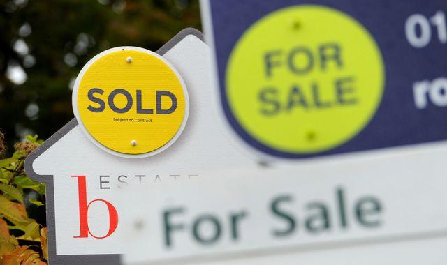 House prices spike to 11-year high - but there are fears it is 'a false dawn'