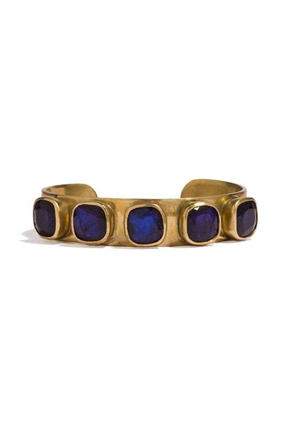 """<p><strong>Adore Adorn</strong></p><p>adore-adorn.com</p><p><strong>$245.00</strong></p><p><a href=""""https://adore-adorn.com/collections/bracelets/products/jane-bracelet-brass?variant=4878405926947"""" rel=""""nofollow noopener"""" target=""""_blank"""" data-ylk=""""slk:Shop Now"""" class=""""link rapid-noclick-resp"""">Shop Now</a></p><p>Adore Adorn's Jane bracelet is the perfect combo: chunky enough to stand out, but versatile enough to wear every day.</p>"""