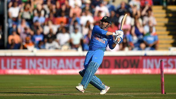 MS Dhoni holds a batting average of more than 50 in ODIs