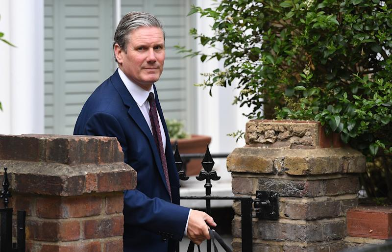 Keir Starmer can work from home instead of going to Liverpool to be shouted at by Labour activists looking for someone to betray them (EPA)