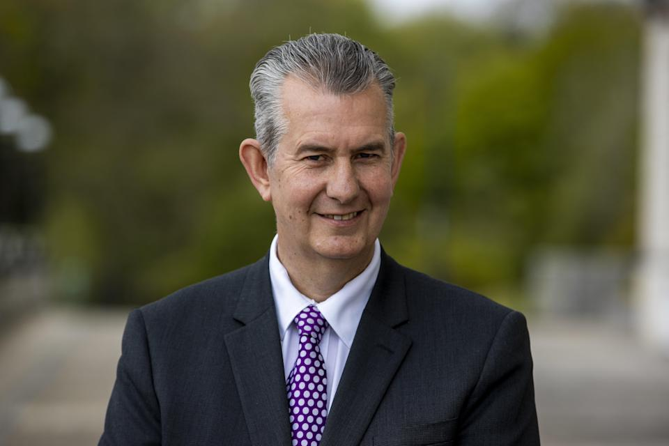 <p>Edwin Poots has been elected as the new leader of the DUP</p> (PA Wire)