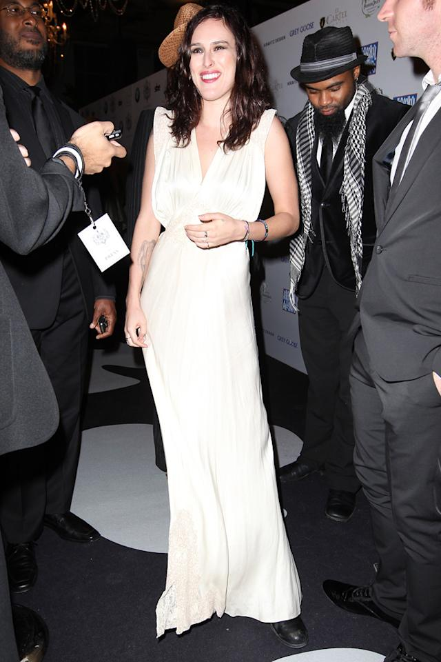 Rumer Willis arrives at the SLS Hotel South Beach Grand Opening party. Rumer attended the party with her band which performed for the event.  Pictured: Rumer Willis  Ref: SPL456272  081112  Picture by: Ralph Notaro / Splash News   Splash News and Pictures Los Angeles:310-821-2666 New York:212-619-2666 London:870-934-2666 photodesk@splashnews.com