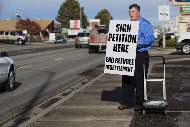 Rick Martin, the head of the Committee to End the College of Southern Idaho's Refugee Center