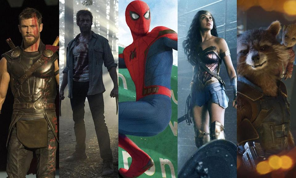 It's been a spectacular year for comic book movies, but which one is your favourite? Have your say now. (Disney/Fox/WB)