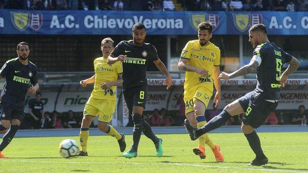 <p>Chievo 1 Inter 2: Icardi grateful to VAR as Nerazzurri remain in top-four hunt</p>