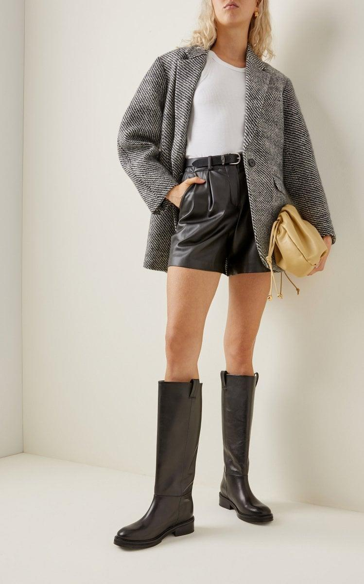 """<p>""""I love boot season, and this year, I want a flat boot I can wear with jeans, leggings, and a simple black skirt. These <span>Frances Leather Knee High Boots by Flattered</span> ($330) have just gone to the top of my wish list. I love the equestrian-inspired silhouette and think they'll go with everything."""" - India Yaffe, associate editor, Commerce</p>"""