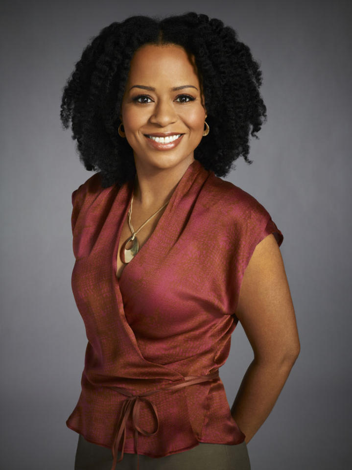 """Tempestt Bledsoe stars as Marny in """"Guys with Kids"""" on NBC."""