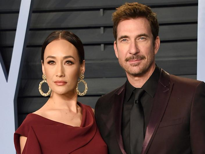 Maggie Q and Dylan McDermott 2018