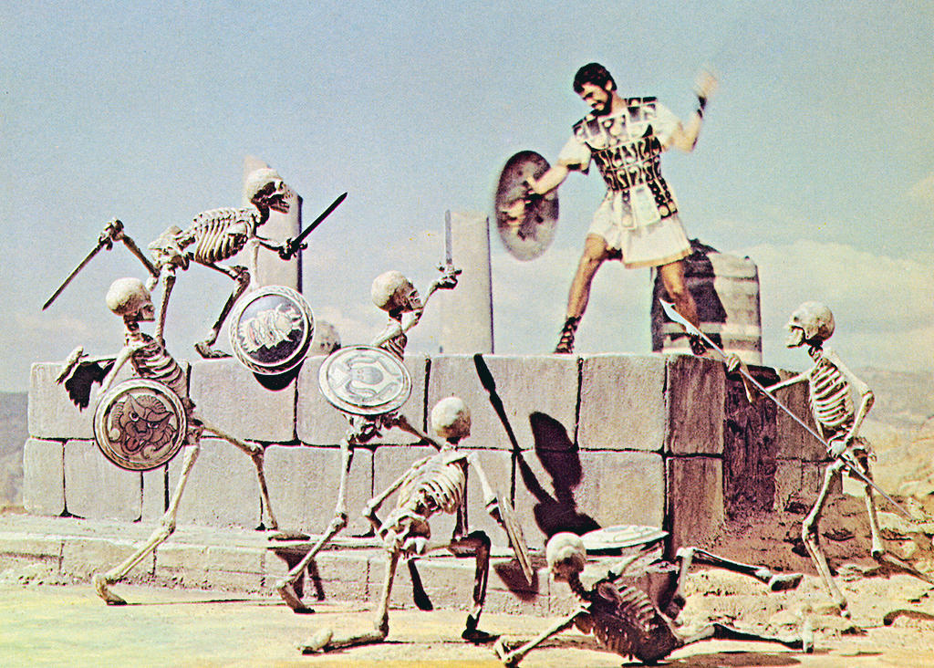 JASON AND THE ARGONAUTS, Todd Armstrong, 1963.