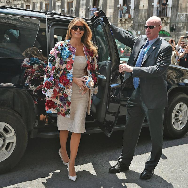 Melania Trump S 51 500 Coat Is The Actual Definition Of