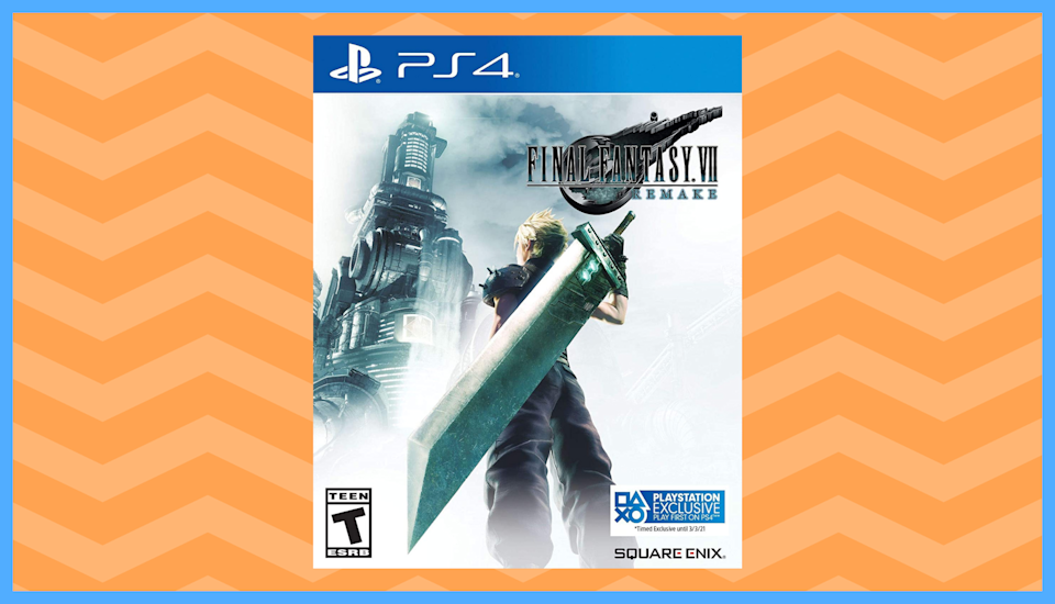 Save half on Final Fantasy VII: Remake. (Photo: Amazon)