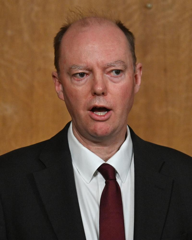 The Chief Medical Officer Chris Whitty