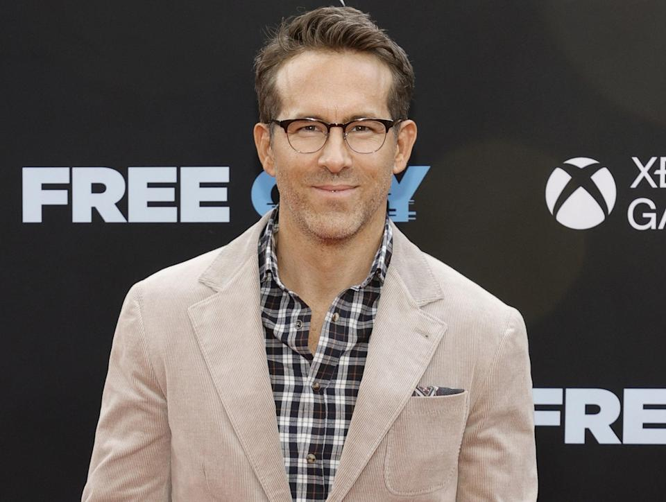 Ryan attends the Free Guy premiere