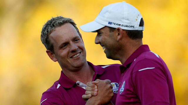 Sergio Garcia's win at the Masters was well deserved, according to Luke Donald, who remains convinced he too can win a major tournament.