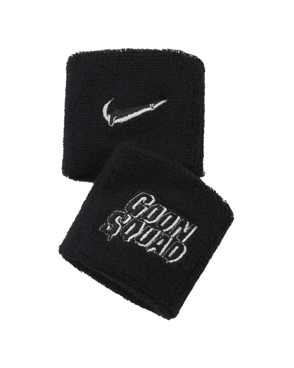 """<p><strong>nike</strong></p><p>nike.com</p><p><strong>$10.00</strong></p><p><a href=""""https://go.redirectingat.com?id=74968X1596630&url=https%3A%2F%2Fwww.nike.com%2Ft%2Fswoosh-x-space-jam-a-new-legacy-wristbands-2-pack-J7fpxj&sref=https%3A%2F%2Fwww.esquire.com%2Fstyle%2Fmens-fashion%2Fg37050436%2Fspace-jam-a-new-legacy-lebron-james-merch%2F"""" rel=""""nofollow noopener"""" target=""""_blank"""" data-ylk=""""slk:Shop Now"""" class=""""link rapid-noclick-resp"""">Shop Now</a></p><p>Cause villains need some love, too.</p>"""