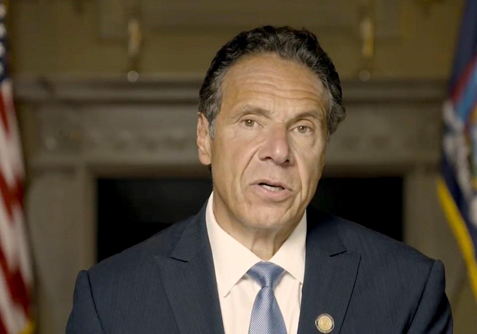 Cuomo Sexual Harassment (ASSOCIATED PRESS)
