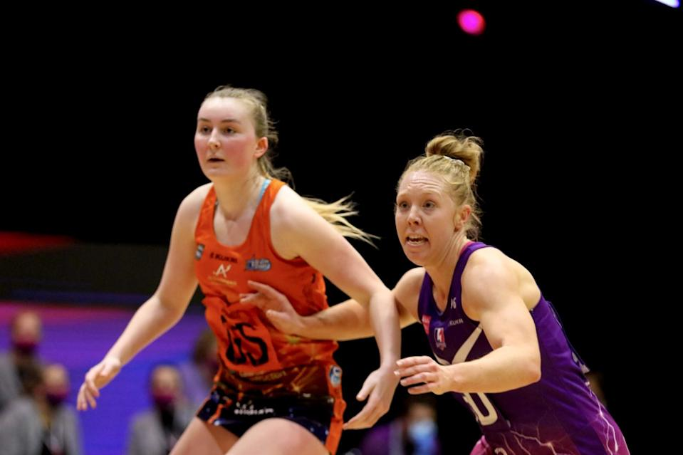 Issy Eaton is hoping to continue her progression at Severn Stars, having made her breakthrough into the senior side this season © Ben Lumley