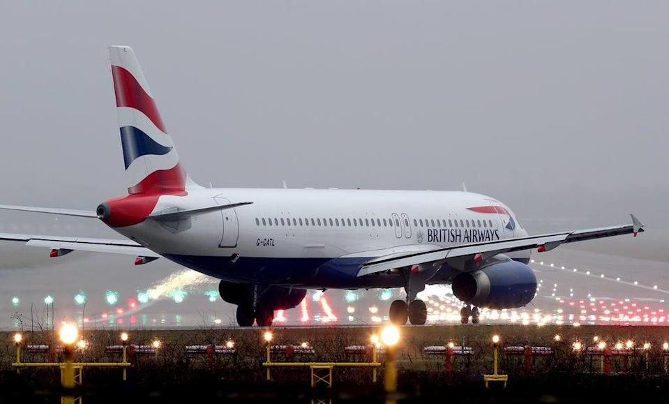 British Airways is planning to launch a subsidiary to operate short-haul flights at Gatwick Airport (Gareth Fuller/PA) (PA Archive)