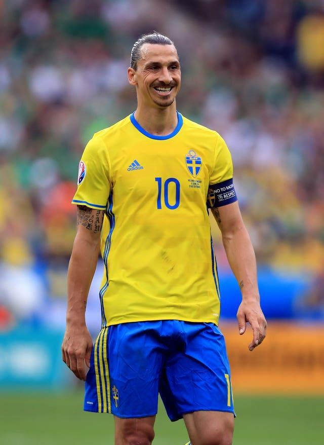 Sweden's Zlatan Ibrahimovic came out of international retirement in March