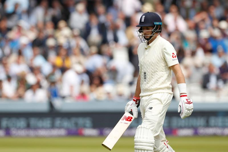England were skittled for just 184 on Day One of the first Test: REUTERS