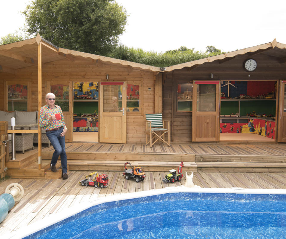 <p>UNEXPECTED:<br>Bricks & Water – owned by Geoff Pike in Wiltshire, Salisbury (Picture: Shed of the Year) </p>