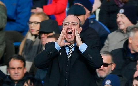 Rafa Benitez is committed to Newcastle - Credit: AFP