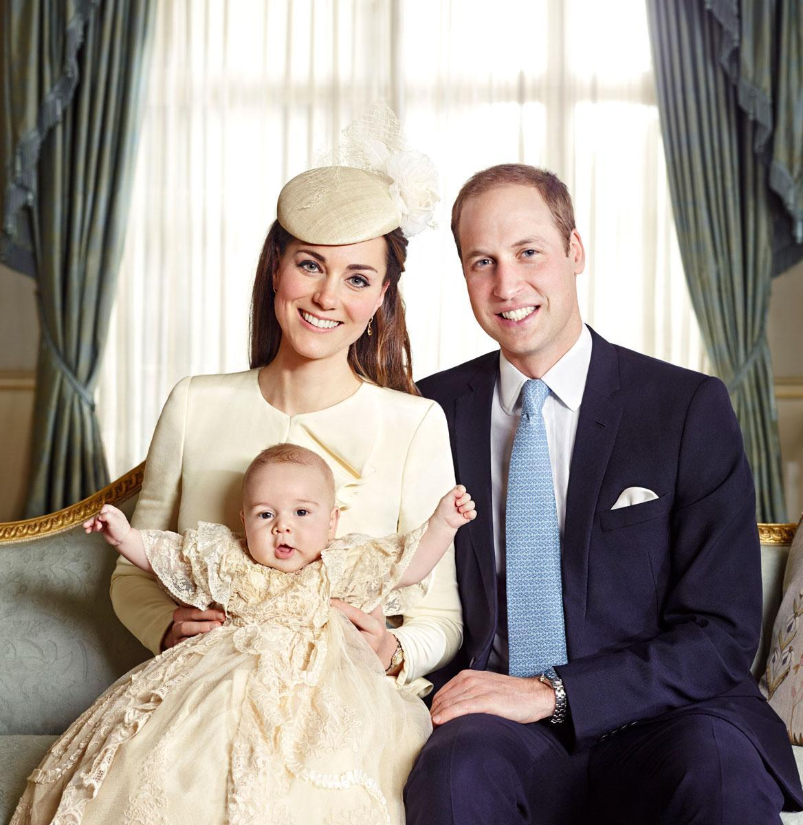 Prince George official Christening photos