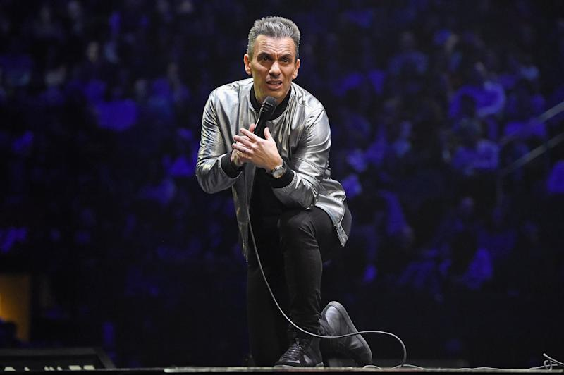 NEW YORK, NY - JANUARY 19: Sebastian Maniscalco performs onstage during the Sebastian Maniscalco
