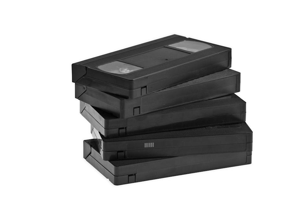 <p>Back before there was DVR, you had to rely on a VHS when you couldn't make it home for your favorite show. Unfortunately, you could tape over those tapes, which often sparked epic wars between siblings.</p>