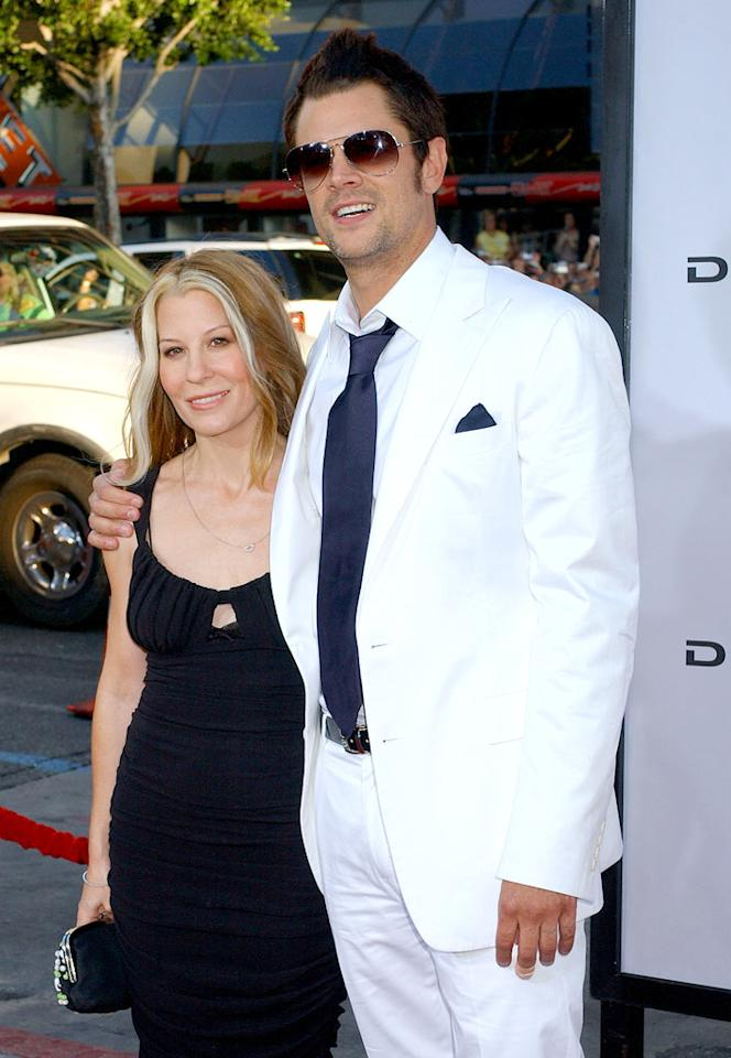 "In July, Johnny Knoxville filed for divorce from Melanie Lynn Clapp, his wife of 12 years. Who knew that the wild star of ""Jackass"" even had a wife? Gregg DeGuire/<a href=""http://www.wireimage.com"" target=""new"">WireImage.com</a> - July 28, 2005"