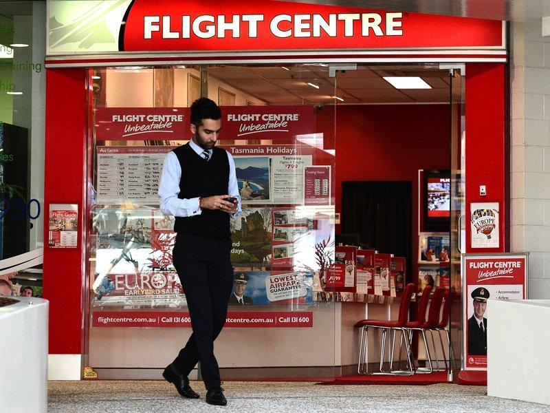 Flight Centre first half profit soars